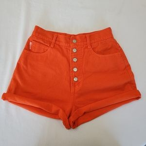 BONGO Vintage 90's high waisted button fly shorts
